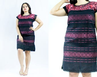 Mexican dress - Embroidery - handmade - Paloma dress