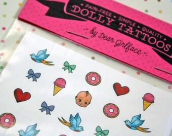 DOLLY TATTOOS / Cute n' Sweet Set / Blythe Doll Accessory