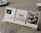 Personalised Baby Photo Block