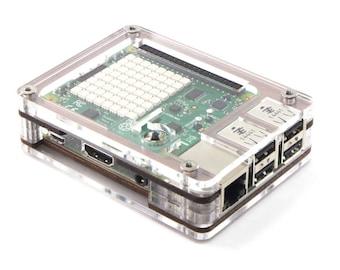 Official Raspberry Pi SENSE HAT upgrade for Zebra Case C4Labs