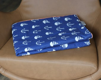 Marine Weighted Therapy Blanket- all sizes and weight available
