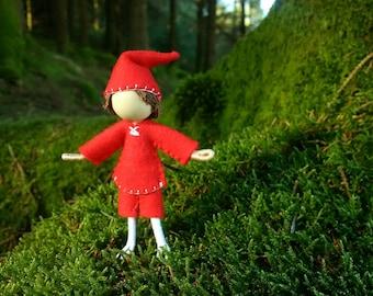 Christmas Elf Bendy Doll