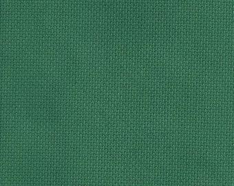 1 Pcs Dark green Cotton Aida 14 ct 32x45cm