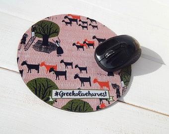 Mouse Pad  #Greekoliveharvest