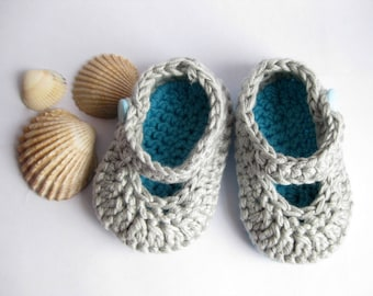 SALE! Baby slippers, Crochet baby Slippers, Baby booties, Baby shoes.
