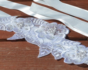 Bohemian Bridal belt/sash, Wedding  Belt, lace bridal belt, lace wedding belt, sash belt.