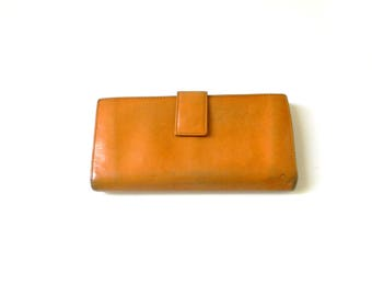 Caramel Brown Leather Wallet