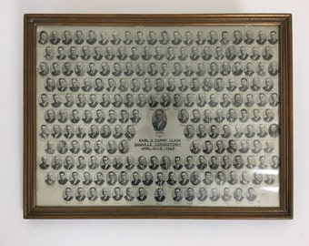 Framed Group Photo, Ecclesiastical from 1945