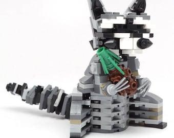 Constructibles Raccoon - LEGO® Parts & Instructions Kit