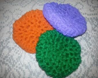 Crocheted Pot Scrubbies (set of 3)
