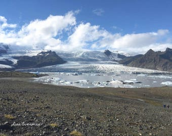 Iceland Glacier View