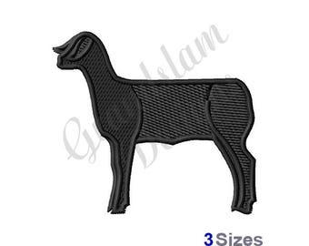 Lamb - Machine Embroidery Design