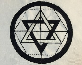The Martinist Pentacle: Altar Cloth