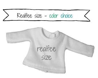 REALFEE SHIRT:  Choice of color for custom made shirt fitting Fairyland Realfee