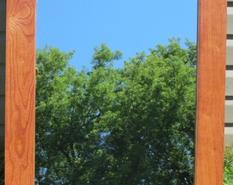 Cherry Wood Mirror