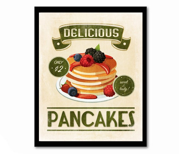 Retro Kitchen Wall Decor: Kitchen Print Art For Kitchen Retro Poster Retro Kitchen