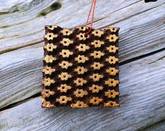 Handmade Indian Printing Block Ornament