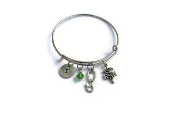 Nurse Gift - Gift for Nurse - Nurse Jewelry - Nurse Graduation - Initial Jewelry - Charm Bracelet - Nurse - Nurse Bracelet Registered Nurse