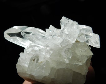 A Larger Very Nice & 100% Natural AAA Quartz Crystal Cluster From Brazil 255gr