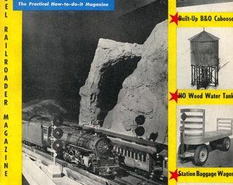 model Railroader magazine August 1955 Very Good Condition