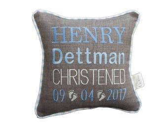 Personalised Christening/Baptism Cushion