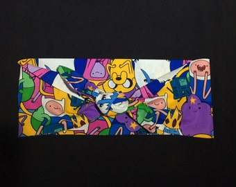 SALE* Vintage Pinup inspired headscarf - Adventure Time print