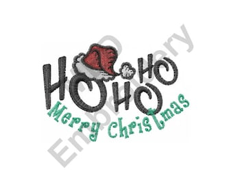 Christmas Hat - Machine Embroidery Design