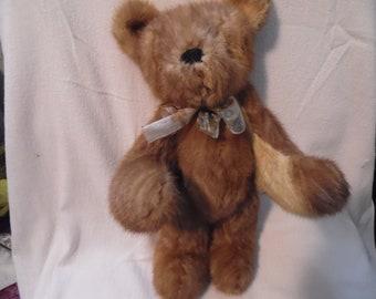Hand Stitched Mink Bear Vintage Fur Coat