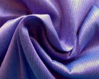 Periwinkle Blue Dupioni Art Silk Fabric Fat Quarter, Bridesmaid Dress Fabric, Blue Art Silk Fabric, Indian Fabrics, Curtain Drapery Material