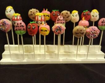 """Cake pops """"Shopkins Inspired"""" (Order of 13)"""