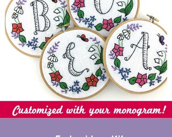 Monogram Embroidery Kit - Customize!