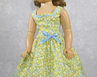 20 inch Doll, Cissy Sun Dress, Yellow Blooms