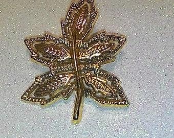 AAI Leaf Brooch