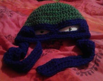 Teenage Mutant Ninja Turtle beanie/mask