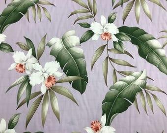 Hawaiian Print in Rayon