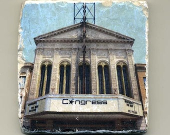 Congress Theater in Logan Square -  Original Coaster