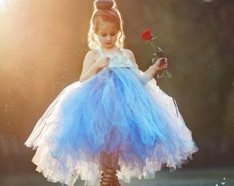 Dusty Blue Flower Girl Dress, Dusty Blue Tutu Dress, Dusty Blue Tulle Dress, Dusty Blue Dress, Dusty Blue Wedding, Dusty Blue, Flower Girl