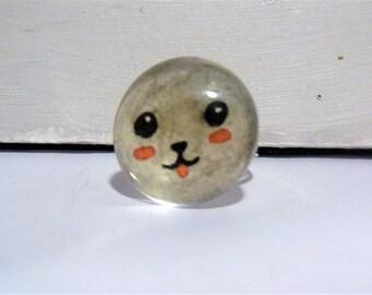 Kawaii animal ring