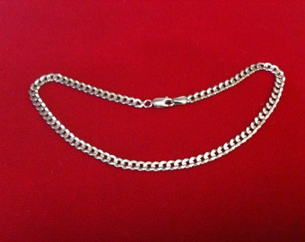 """10 K Yellow Gold Anklet  5.9 gm. 10 1/4"""" Long."""