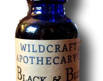 Black and Blue Cohosh Pregnancy 50/50 Organic Herbs Tincture : Induce or Stalled Labor, Stimulate Contractions, for Midwife, Birth, & More