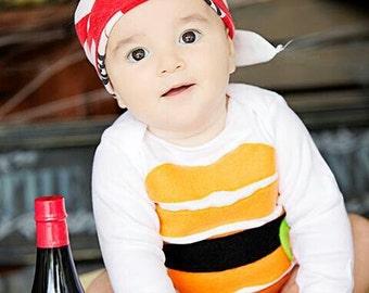 Baby Sushi Costume, Kids Halloween Costume, Sushi Costume, Funny Baby Costume, Baby Geekery, Newborn Costume, Halloween Costume Baby