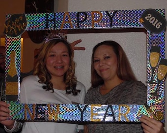 Birthday, Baby Shower, Wedding,Happy New Year Themed Party Photo Prop Frame