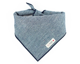 Chambray Dog Bandana