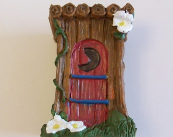 ON SALE was 4.95, Miniature garden outhouse  fairy gardens, terrariums, gnome gardens