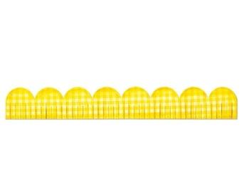 NEW LOW PRICE: Sizzix Sizzlits Decorative Strip Die - Scallop, Fringed  658535