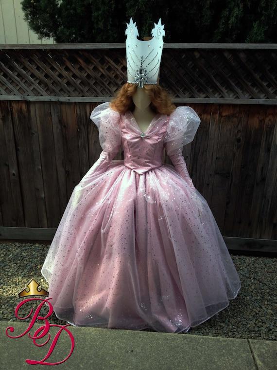 Glinda Wizard Of Oz Version B Movie Style Adult Costume Good
