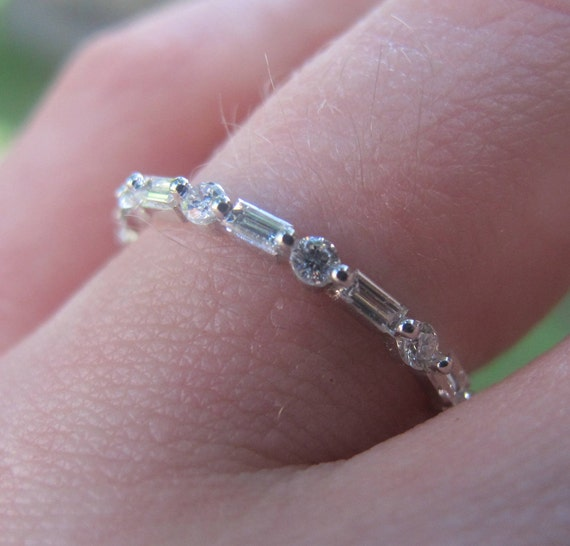 peter channel bands baguette with product cut set norman eternity jewelers band platinum weddingbands diamonds straight