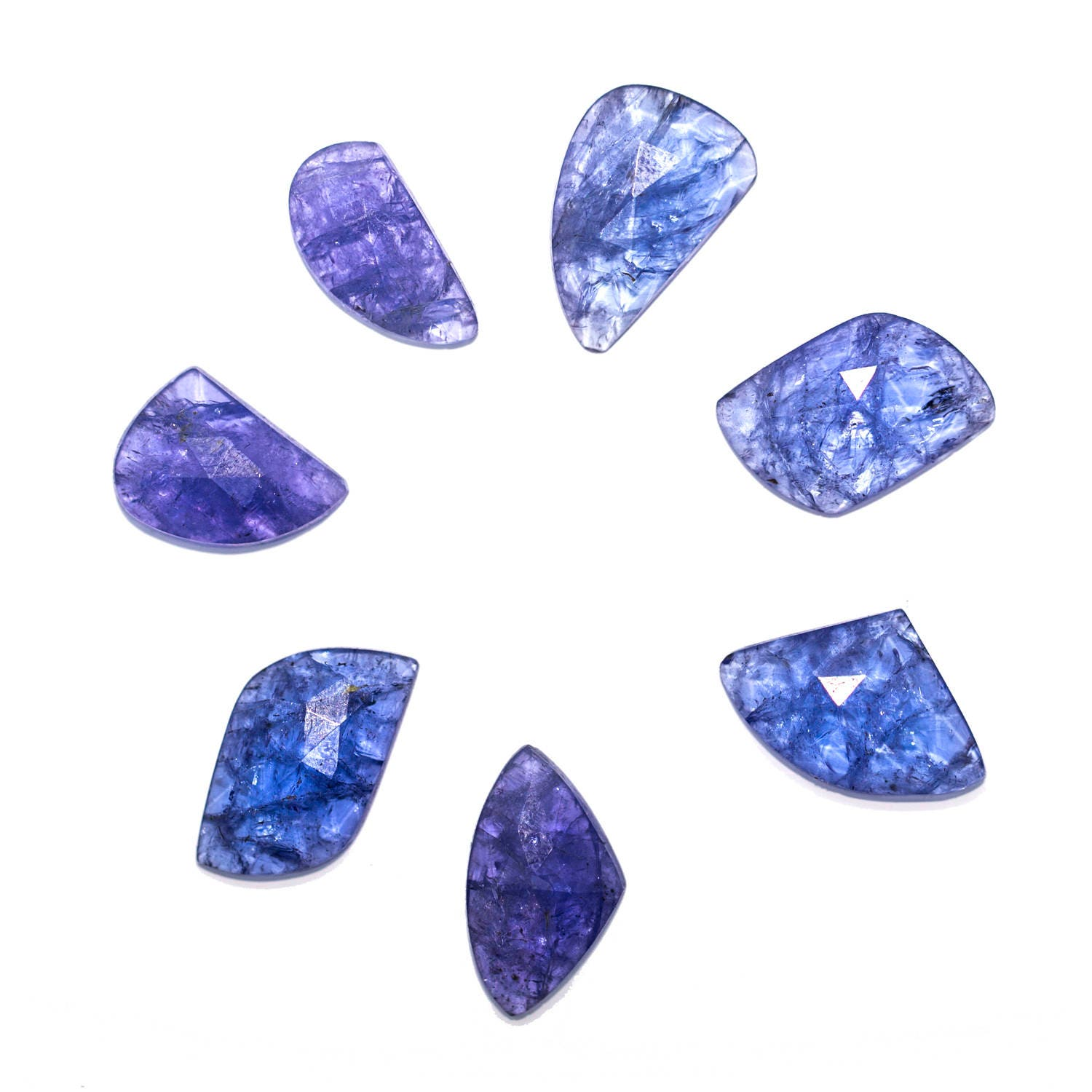 s natural exports tanzanite products jewels beads loose rondelle violet gemstone smooth