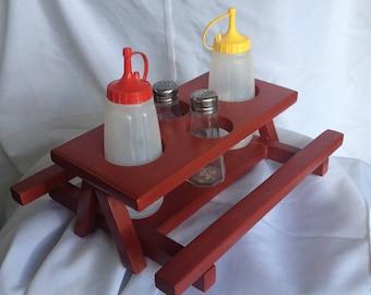 Condiment Picnic Table