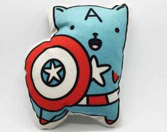 Mini Pillow Captain-Cat